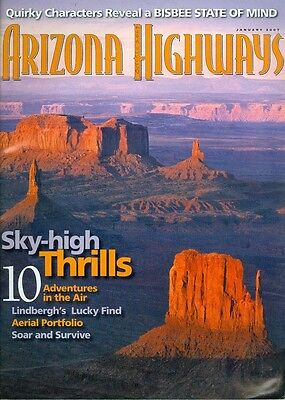 2007 Arizona Highways Magazine: Sky-High Thrills/10 Adventures in the Air