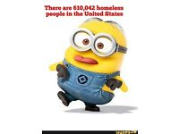 Mighty Minion Madness Charity RaffleAll Proceeds To Homeless Charity Over 60 Minions to be won