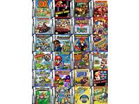 WANTED GAMEBOY ADVANCE AND GAMEBOY BOXED GAMES CASH WAITING