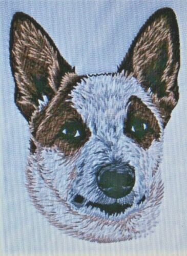 Australian Cattle Dog Red Heeler Kids Set HAND TOWELS EMBROIDERED Adorable