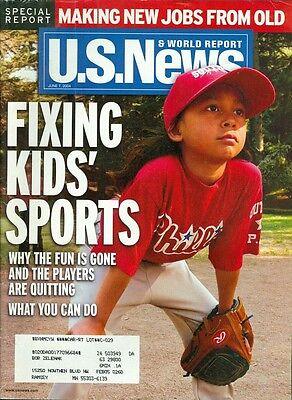 2004 U S  News   World Report Magazine  Fixing Kids Sports Making New Jobs