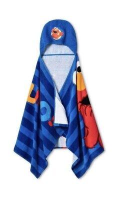 Sesame Street Elmo Hooded Towel Wrap