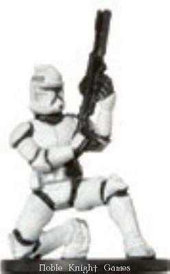 WOTC Star Wars Minis Clone Strike Clone Trooper #7 NM