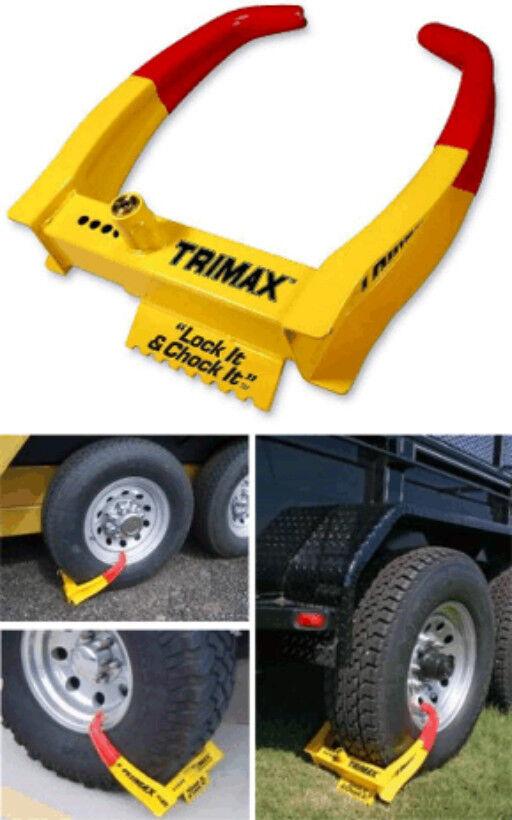 TRIMAX UNIVERSAL WHEEL CHOCK LOCK TCL-75
