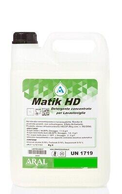 Conf. 4 taniche da Kg 6 cad. di detergente liquido per lavastoviglie industriali