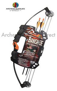 Barnett-Archery-Banshee-25Lbs-Junior-Kids-Compound-Bow-Set-Pack-With-Arrows