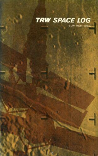 Space Log - Summer 1965, including Ranger Moon and Mariner IV Mars Photos