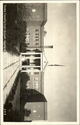 Raeford NS Hoke County High School Cline? Real Photo Postcard