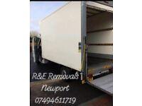Man with a van R&E Removals Newport