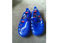 MotherCare size 10 jelly shoes