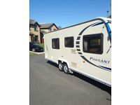 4-6 Birth Bailey Caravan for sale, awnings included