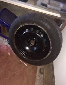 Fiat punto spare wheel 185/65 R 15 T