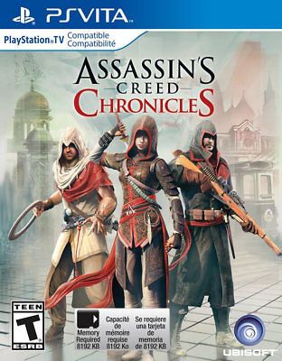Assassins Creed Chronicles PSV New PlayStation Vita, PlayStation Vi