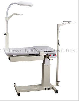 New Optical Eyeglass Motorized Optometrist Combination Work Table Cp-180a