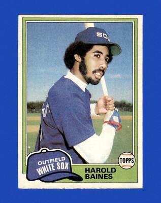 1981 Topps Set Break 347 Harold Baines EX-EXMINT GMCARDS  - $2.77