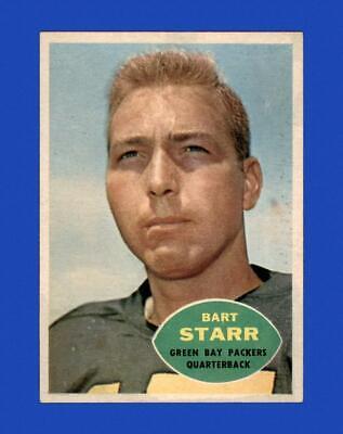 1960 Topps Set Break # 51 Bart Starr VG-VGEX (wrinkle) *GMCARDS*