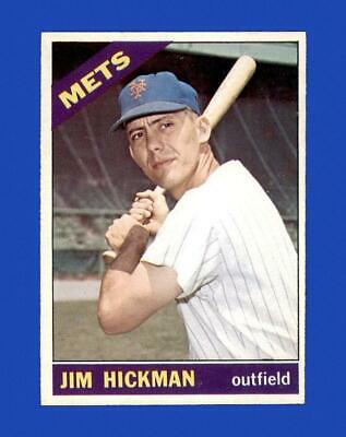 1966 Topps Set Break 402 Jim Hickman NR-MINT GMCARDS  - $4.60