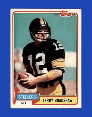 1981 Topps Set Break 375 Terry Bradshaw EX-EXMINT GMCARDS  - $0.79