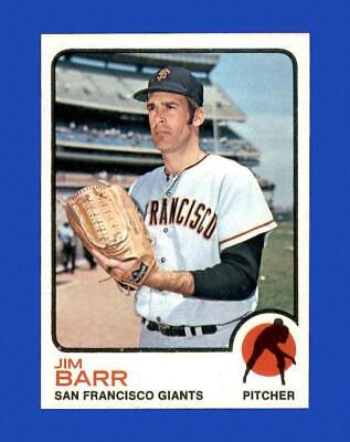 1973 Topps Set Break 387 Jim Barr NM-MT OR BETTER GMCARDS  - $1.25