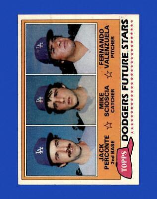 1981 Topps Set Break 302 Fernando Valenzuela EX-EXMINT GMCARDS  - $2.25