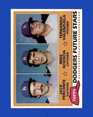 1981 Topps Set Break 302 Fernando Valenzuela EX-EXMINT GMCARDS  - $3.00