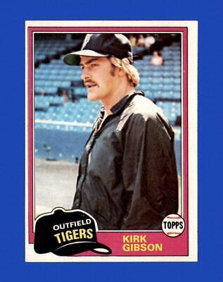 1981 Topps Set Break 315 Kirk Gibson EX-EXMINT GMCARDS  - $0.79