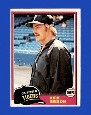 1981 Topps Set Break 315 Kirk Gibson EX-EXMINT GMCARDS  - $2.51