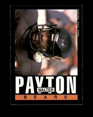 1985 Topps Set Break 33 Walter Payton EX-EXMINT GMCARDS  - $4.80