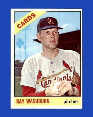1966 Topps Set Break 399 Ray Washburn EX-EXMINT GMCARDS  - $1.81