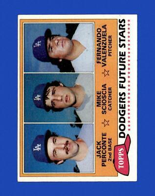 1981 Topps Set Break 302 Fernando Valenzuela VG-VGEX wrinkle GMCARDS  - $2.25