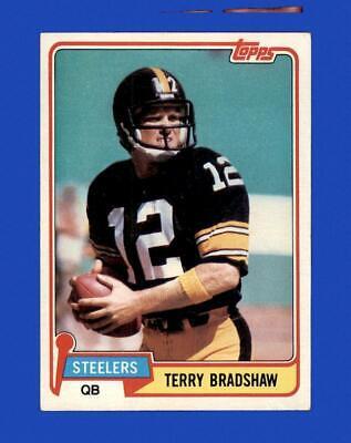 1981 Topps Set Break 375 Terry Bradshaw EX-EXMINT GMCARDS  - $1.25