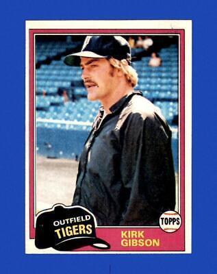 1981 Topps Set Break 315 Kirk Gibson EX-EXMINT GMCARDS  - $1.82