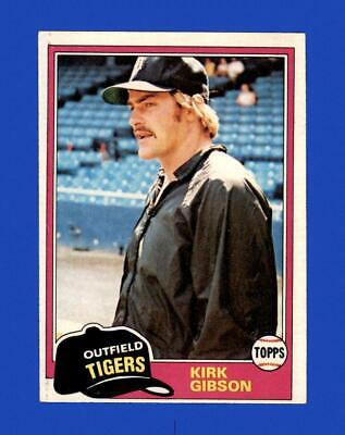 1981 Topps Set Break 315 Kirk Gibson EX-EXMINT GMCARDS  - $0.79