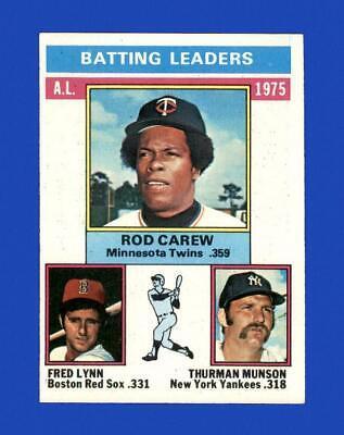 1976 Topps Set Break #192 AL Batting Leaders EX-EXMINT *GMCARDS*