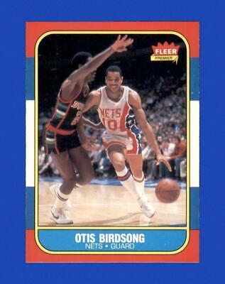 1986-87 Fleer Set Break 10 Otis Birdsong NM-MT OR BETTER GMCARDS  - $6.51