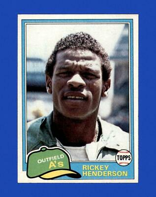 1981 Topps Set Break 261 Rickey Henderson EX-EXMINT GMCARDS  - $5.50