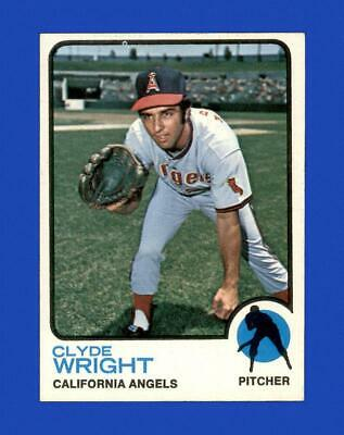 1973 Topps Set Break 373 Clyde Wright NR-MINT GMCARDS  - $0.84