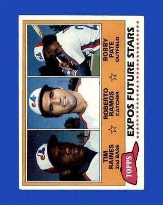 1981 Topps Set Break 479 Tim Raines EX-EXMINT GMCARDS  - $0.79