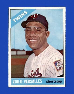 1966 Topps Set Break 400 Zoilo Versalles EX-EXMINT GMCARDS  - $3.81