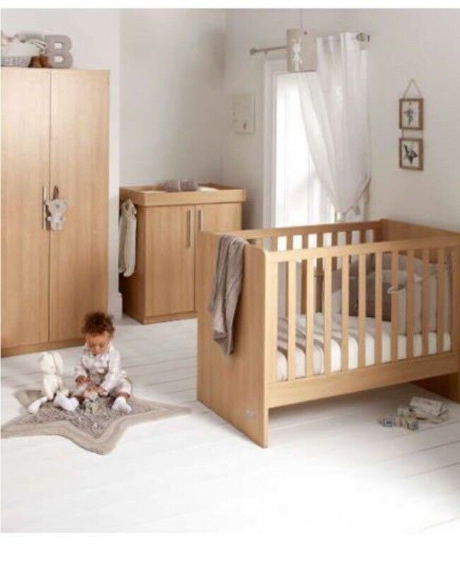 Mamas And Papas Alten Nursery Furniture Set