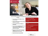 FREE 1-week Hair and Beauty Course for 16-25s