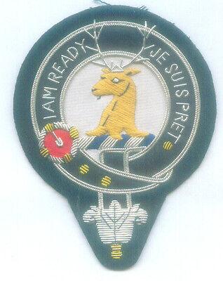 Royal Scottish Scotland UK Clan Crest Heraldry Family Name Fraser Arms COA Patch