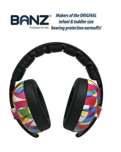 Baby Banz Earmuffs Infant Hearing Protection – Ages 0-2+ Years