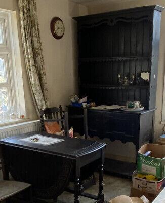 Vintage Retro Antique French Kitchen French  Dresser Cupboard Sideboard Cabinet