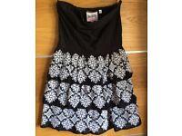 Superdry Girls Ladies Superdry Strapless Summer Dress XS