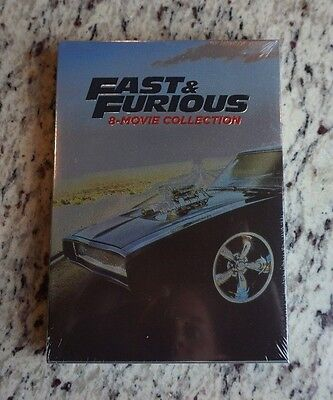 Fast   And Furious 1 8 Complete 8 Movie Collection Dvd Set 9 Disc 1St Class Ship