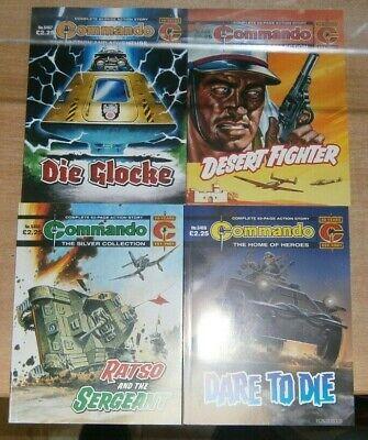 Commando comic #5455 #5456 #5457 #5458 - 24th July 2021
