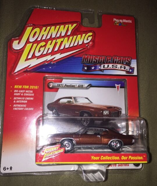 Johnny Lightning Muscle Cars Pontiac Gto Ebay