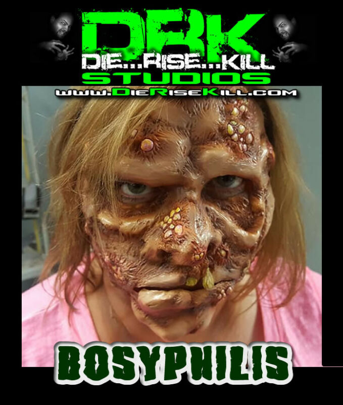 """Bosyphilis"" Full face Latex Prosthetic for Cosplay / Halloween"