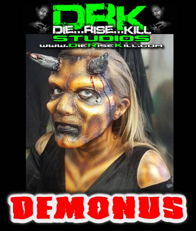 """""""Demonus"""" Full face Latex Prosthetic for Cosplay / Halloween"""